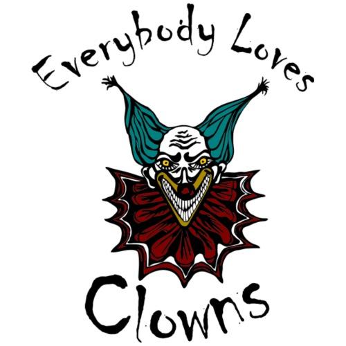 Everybody Loves Clowns - Men's Premium T-Shirt