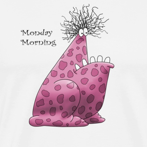 Monday Morning Monster - Männer Premium T-Shirt