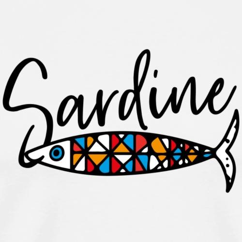 Sardine colorate all'amo - Maglietta Premium da uomo