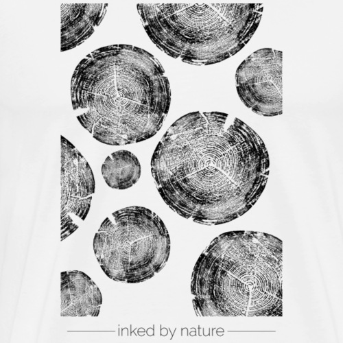 NATURE PATTERN - Männer Premium T-Shirt