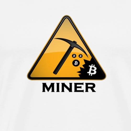Miner - Männer Premium T-Shirt