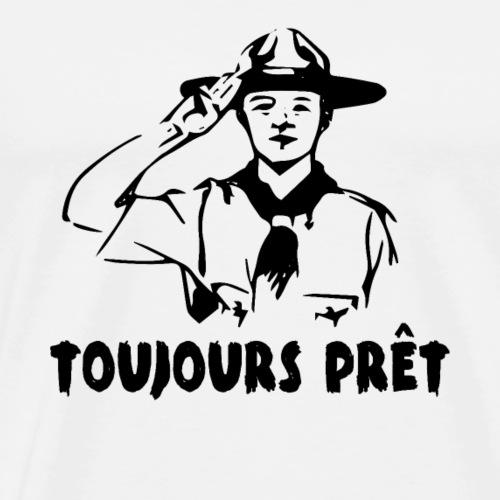 TOUJOURS PRET - T-shirt Premium Homme