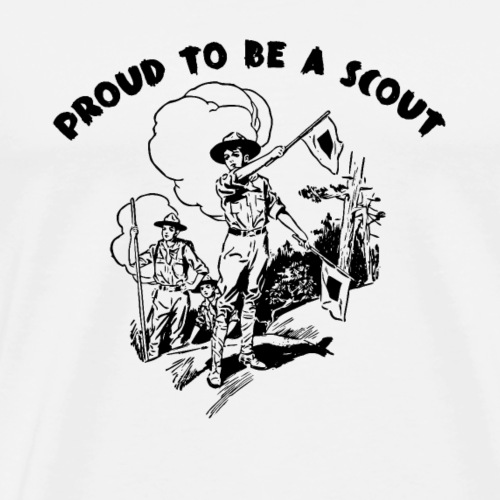 Proud To Be A SCOUT - T-shirt Premium Homme