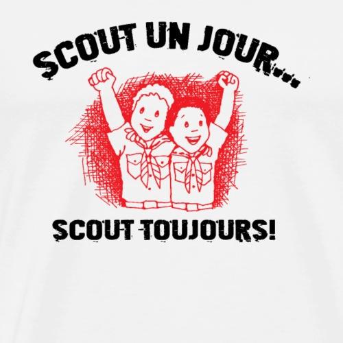 SCOUT UN JOUR SCOUT TOUJOURS - T-shirt Premium Homme