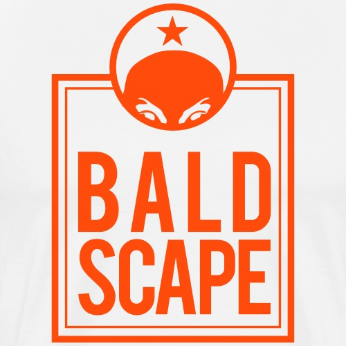 Coolness by Baldscape - Men's Premium T-Shirt