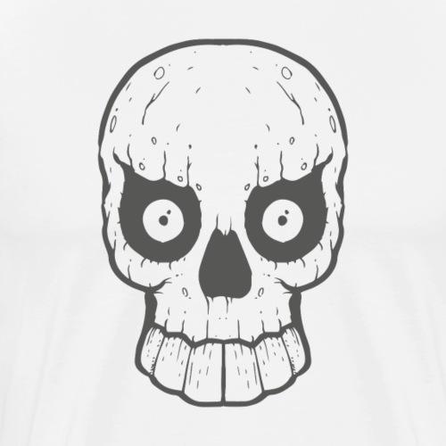 Monster Skull | Schädel - Männer Premium T-Shirt