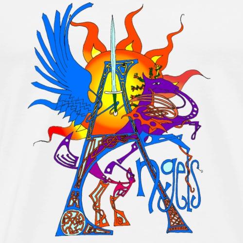 Angel Messenger - Men's Premium T-Shirt