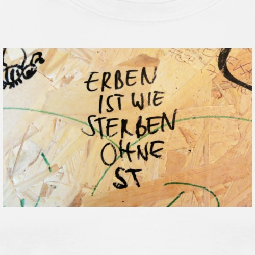 Erben und Sterben - Männer Premium T-Shirt