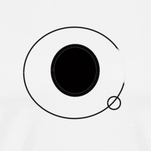electron logo - Mannen Premium T-shirt