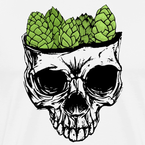 Hop Brain - Men's Premium T-Shirt