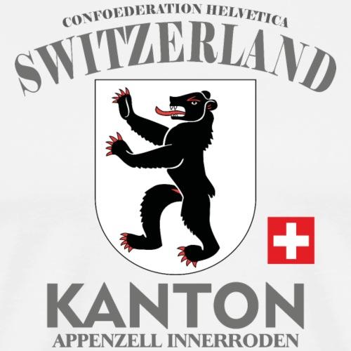 Kanton T-Shirt appenzelli, Schweiz, switzerlang - Männer Premium T-Shirt