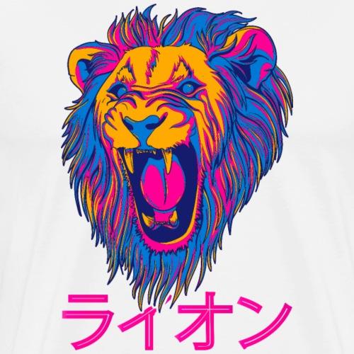 japan Lion - T-shirt Premium Homme