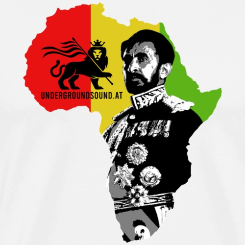 Africa Conquerin Lion H.I.M. - Männer Premium T-Shirt