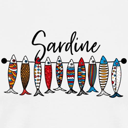 Sardine colorate - Maglietta Premium da uomo