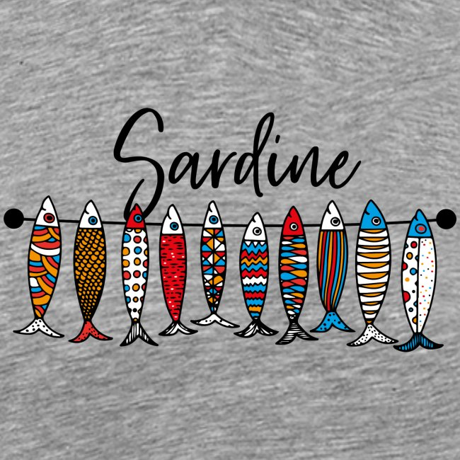 Sardine colorate