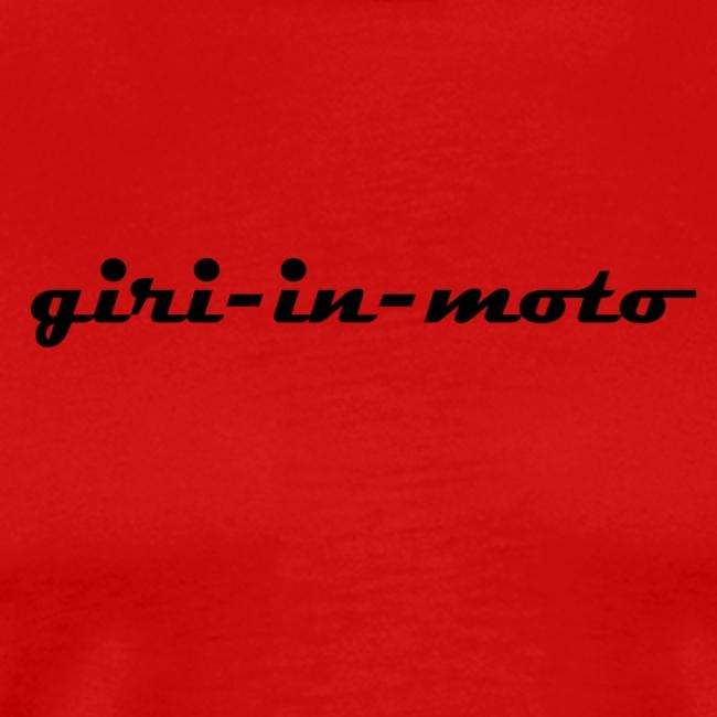 GIRI IN MOTO LIFESTYLE RACING NERO