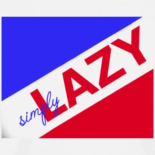 simply lazy - Männer Premium T-Shirt