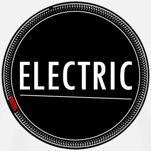 Electric red light - Männer Premium T-Shirt