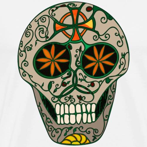 Growing Skull - Men's Premium T-Shirt