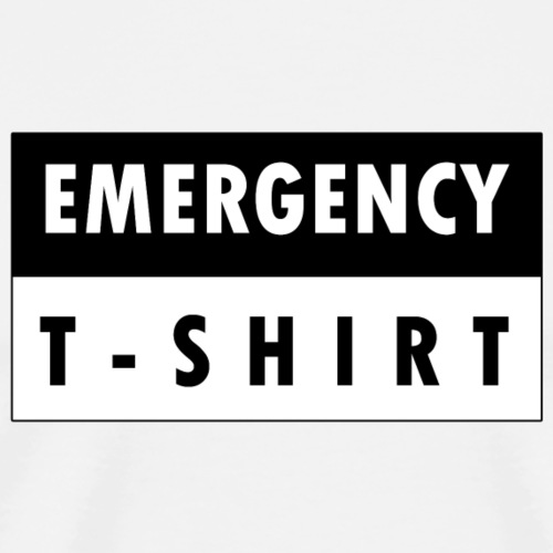 Emergency t-shirt - Men's Premium T-Shirt