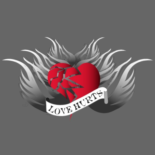 Love Hurts - Liebe verletzt - Männer Premium T-Shirt