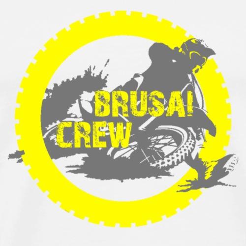 Brusai Crew Logo - Maglietta Premium da uomo