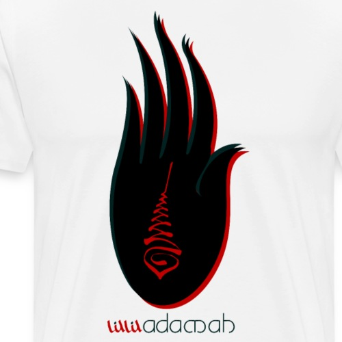 Buddha Hand.: Good luck - Men's Premium T-Shirt