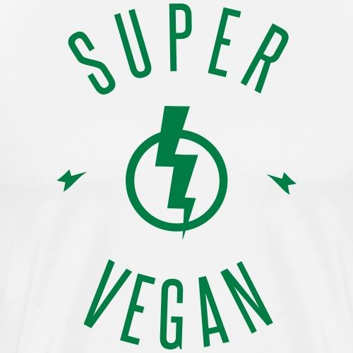 SUPER VEGAN - T-shirt Premium Homme