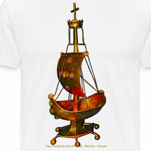 Goldene Schiff Uelzen - Männer Premium T-Shirt