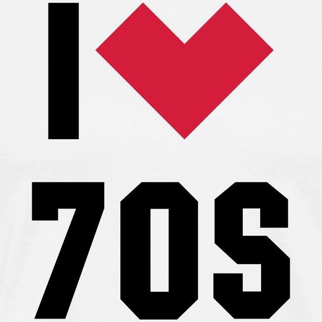 i heart 70s college