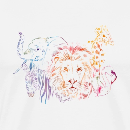 Colorful Safari Animal