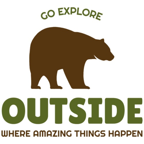 Go Explore: Outside - Männer Premium T-Shirt