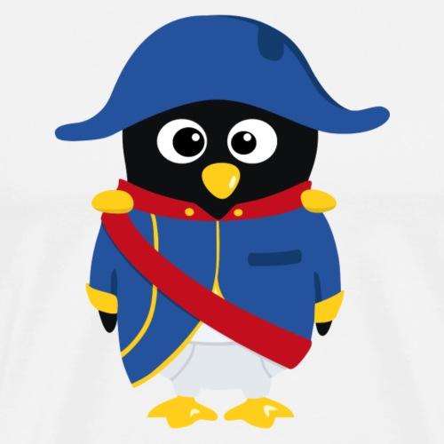 Pingouin Napoléon - T-shirt Premium Homme