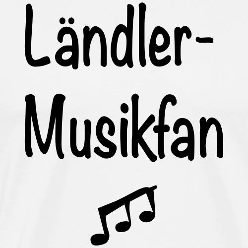Ländlermusikfan - Männer Premium T-Shirt