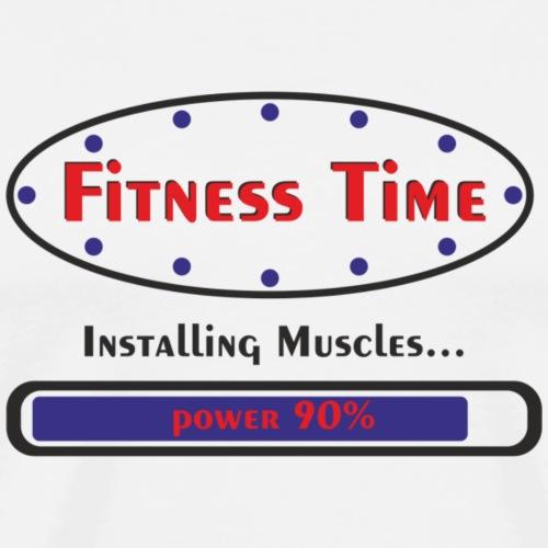 Fitness Time - Maglietta Premium da uomo