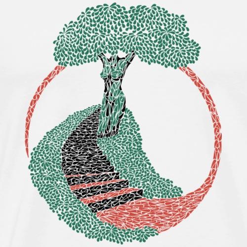 Stairway to heaven - Mannen Premium T-shirt