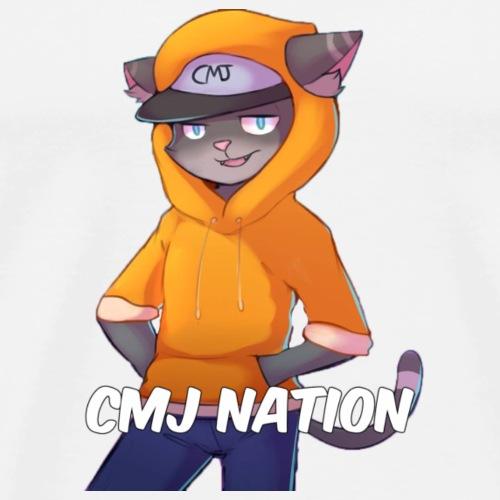 CMJ Nation White Collection - Men's Premium T-Shirt