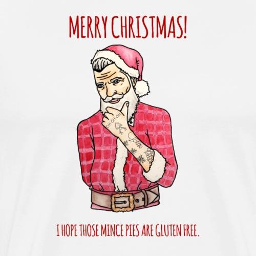 Hipster Santa II - Men's Premium T-Shirt