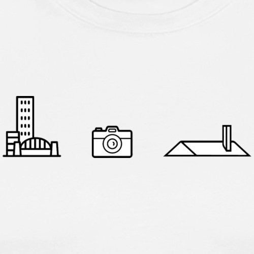 picto urbex - T-shirt Premium Homme