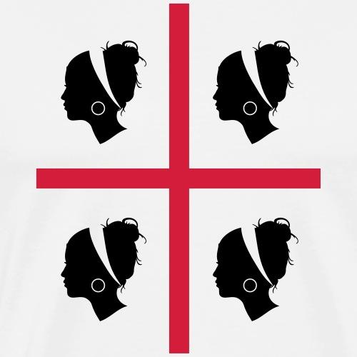 Sardegna, 4 More - Maglietta Premium da uomo