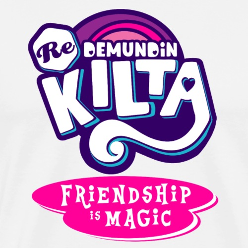 Friendship is Magic K - Miesten premium t-paita
