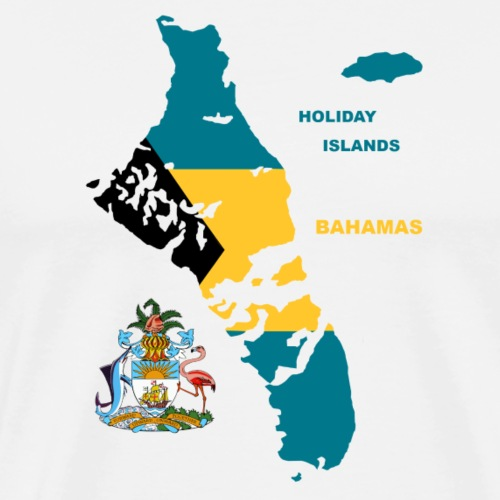Summer Islands Bahamas Atlantik Urlaub Sonne - Männer Premium T-Shirt
