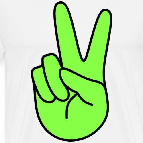 Victory, green - Men's Premium T-Shirt