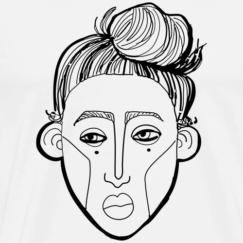 BELLE - Miesten premium t-paita