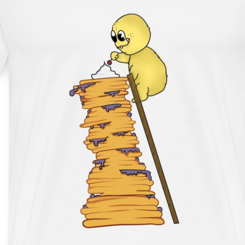 petit monstre et pancakes - T-shirt Premium Homme