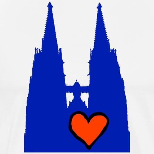 Herz Regensburg - Männer Premium T-Shirt
