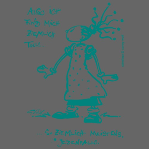Stineliese...ziemlich toll! - türkis - Männer Premium T-Shirt
