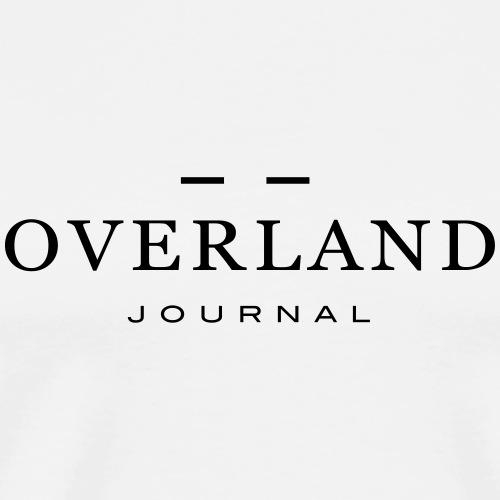 Overland Journal Black - Männer Premium T-Shirt