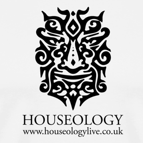 Houseology Official - black - Men's Premium T-Shirt