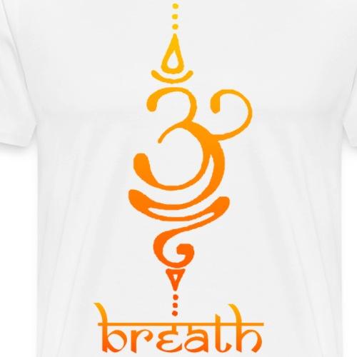 Yoga Breath - Camiseta premium hombre